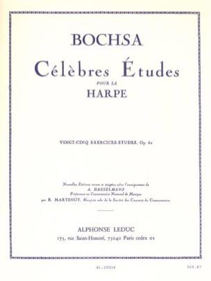 25 Exercices-études op. 62 Charles Bochsa Partition laflutedepan