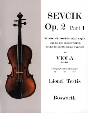 Etudes Opus 2 / Partie 1 - Alto Otakar Sevcik Partition laflutedepan