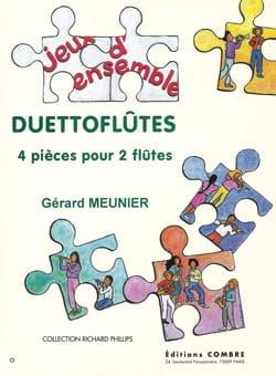Duettoflûtes Gérard Meunier Partition Flûte traversière - laflutedepan