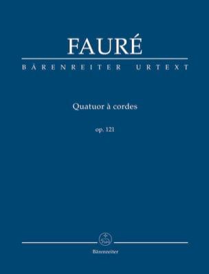 Quatuor A Cordes Op. 121 FAURÉ Partition Petit format - laflutedepan