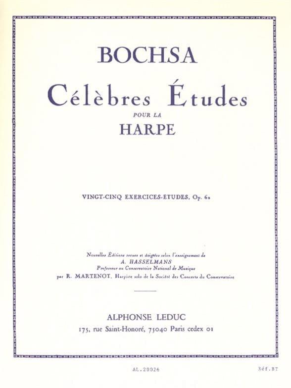 25 Exercices-études op. 62 - Charles Bochsa - laflutedepan.com