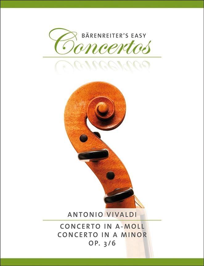 Concerto en la Mineur Op.3 N° 6 - VIVALDI - laflutedepan.com
