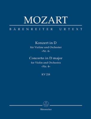 Violinkonzert D-Dur Kv 218 MOZART Partition laflutedepan