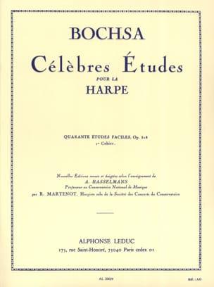 40 Etudes faciles op. 318 -Cahier 1 Charles Bochsa laflutedepan