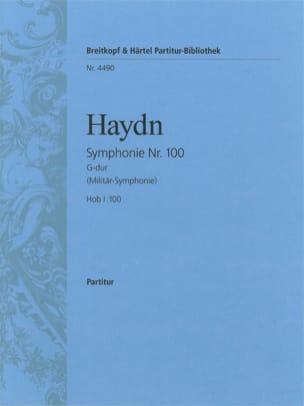 Symphonie Nr. 100 G-Dur - Partitur - HAYDN - laflutedepan.com