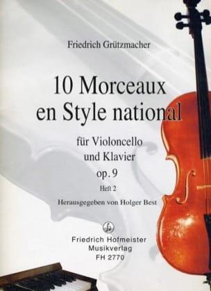 10 Morceaux en Style National op. 9, Volume 2 - laflutedepan.com