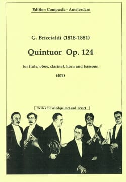 Quintuor op. 124 -Windquintett Giulio Briccialdi laflutedepan