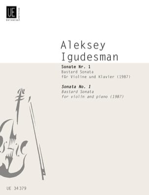 Sonate N°1 1987 Aleksey Igudesman Partition Violon - laflutedepan