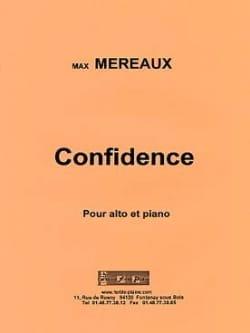 Confidence Max Méreaux Partition Alto - laflutedepan