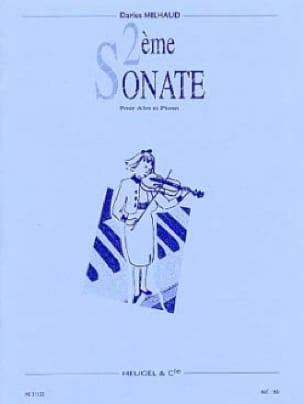 Sonate n° 2 - Alto - MILHAUD - Partition - Alto - laflutedepan.com