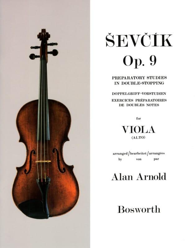 Etudes Opus 9 - Alto - Otakar Sevcik - Partition - laflutedepan.com