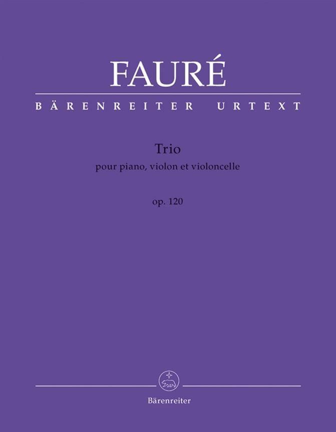 Trio Op. 120 - FAURÉ - Partition - Trios - laflutedepan.com