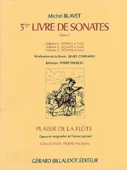 Michel Blavet - Sonatas Op.3 Nr. 1 and 2 - Volume 1 - Partition - di-arezzo.co.uk