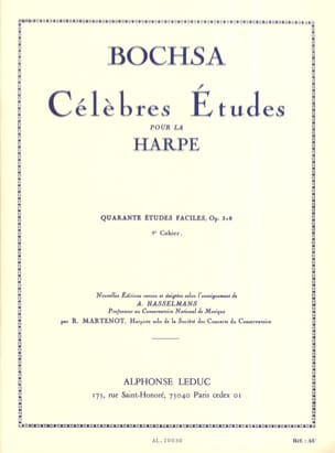 40 Etudes faciles op. 318 -Cahier 2 Charles Bochsa laflutedepan