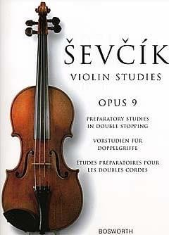Otakar Sevcik - Etudes Opus 9 - Violin - Partition - di-arezzo.co.uk