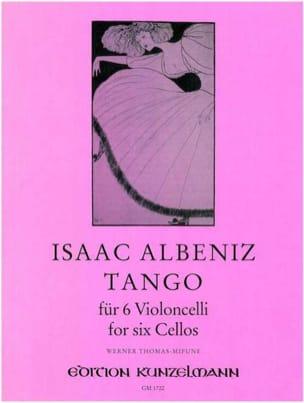 Tango - 6 Violoncelles ALBENIZ Partition Violoncelle - laflutedepan