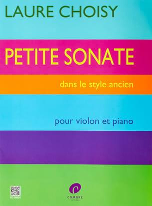 Petite Sonate dans le Style Ancien Laure Choisy Partition laflutedepan
