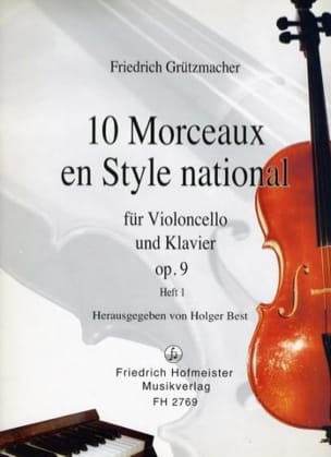 10 Morceaux en Style National op. 9, Volume 1 laflutedepan