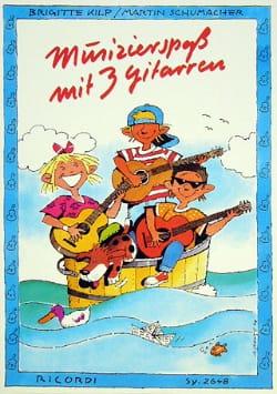 Musizierspass Mit 3 Gitarren - Kilp / Schumacher - laflutedepan.com