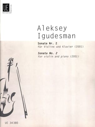 Sonate N°2 2001 Aleksey Igudesman Partition Violon - laflutedepan