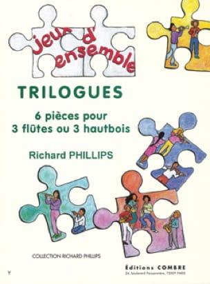 Trilogues - Richard Phillips - Partition - laflutedepan.com