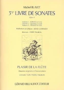 3ème Livre de Sonates, op. 3 Volume 2 - Flûte et Bc laflutedepan