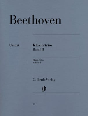 BEETHOVEN - Trios with piano, volume 2 - Partition - di-arezzo.co.uk