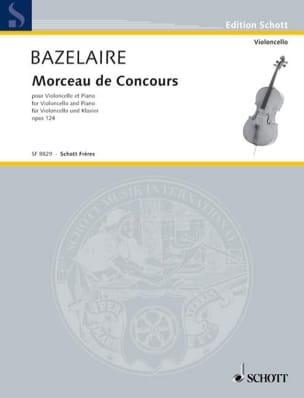 Morceau de concours op. 124 Paul Bazelaire Partition laflutedepan