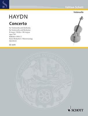 Konzert D-Dur op. 101, Hob. 7b: 2 HAYDN Partition laflutedepan
