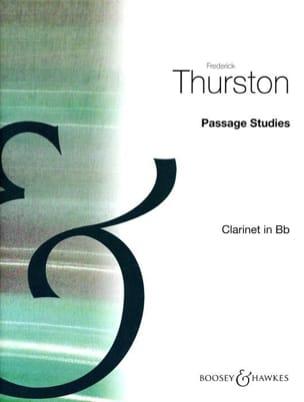 Passage Studies - Volume 3 Frederick Thurston Partition laflutedepan