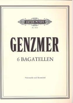 6 Bagatellen Harald Genzmer Partition 0 - laflutedepan