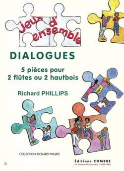 Dialogues Richard Phillips Partition Flûte traversière - laflutedepan