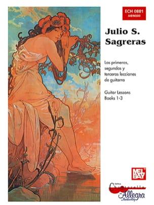 Julio S. Sagreras - Guitar Lessons - Books 1-3 - Partition - di-arezzo.co.uk