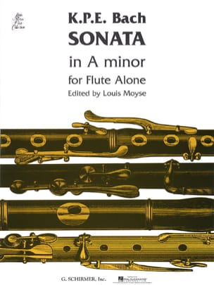 Sonata A minor - Flute solo Carl Philipp Emanuel Bach laflutedepan