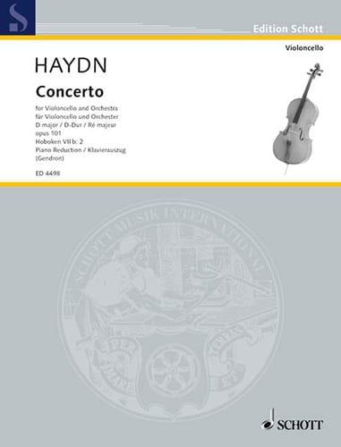 Konzert D-Dur op. 101, Hob. 7b: 2 - HAYDN - laflutedepan.com