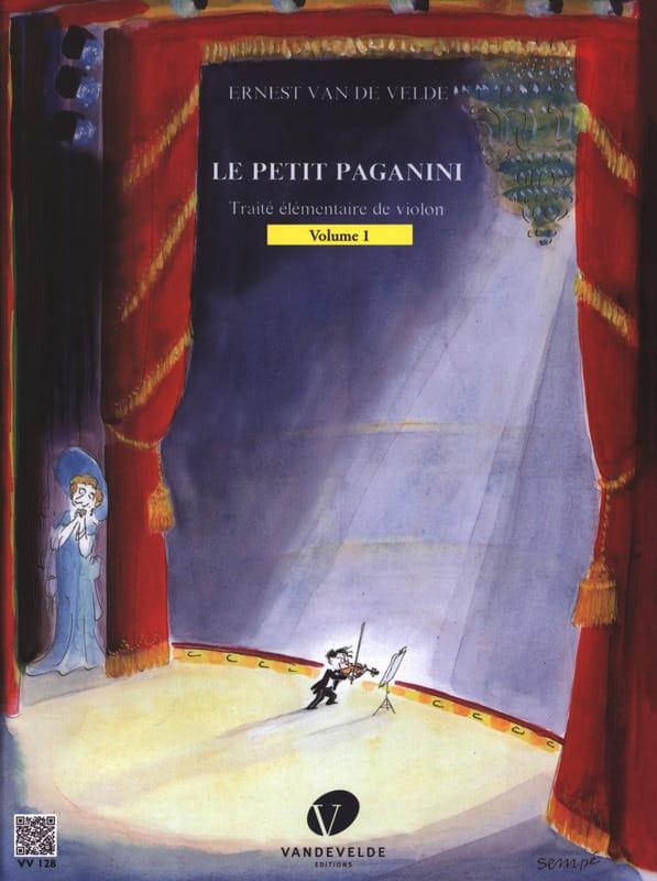 Le Petit Paganini Volume 1 - Partition - Violon - laflutedepan.com