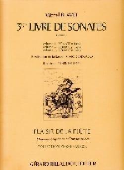 Sonates Op.3 N°5 et 6 - Vol.3 - Michel Blavet - laflutedepan.com