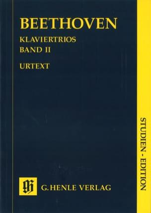 Trios avec piano, volume II BEETHOVEN Partition laflutedepan