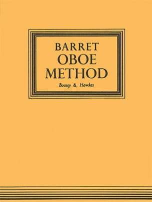 Oboe Method A. M. R. Barret Partition Hautbois - laflutedepan