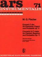 Konzert C-Dur op. 11 -Klarinette Fagott Klavier - laflutedepan.com