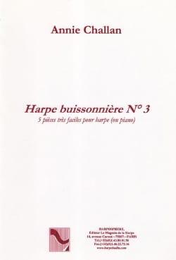 La Harpe Buissonnière N° 3 Annie Challan Partition laflutedepan