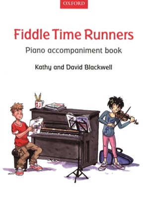 Fiddle Time Runners Piano Accompaniment Book Partition laflutedepan