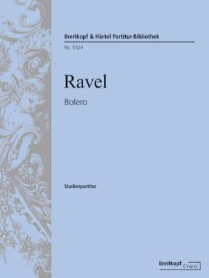Bolero RAVEL Partition Petit format - laflutedepan