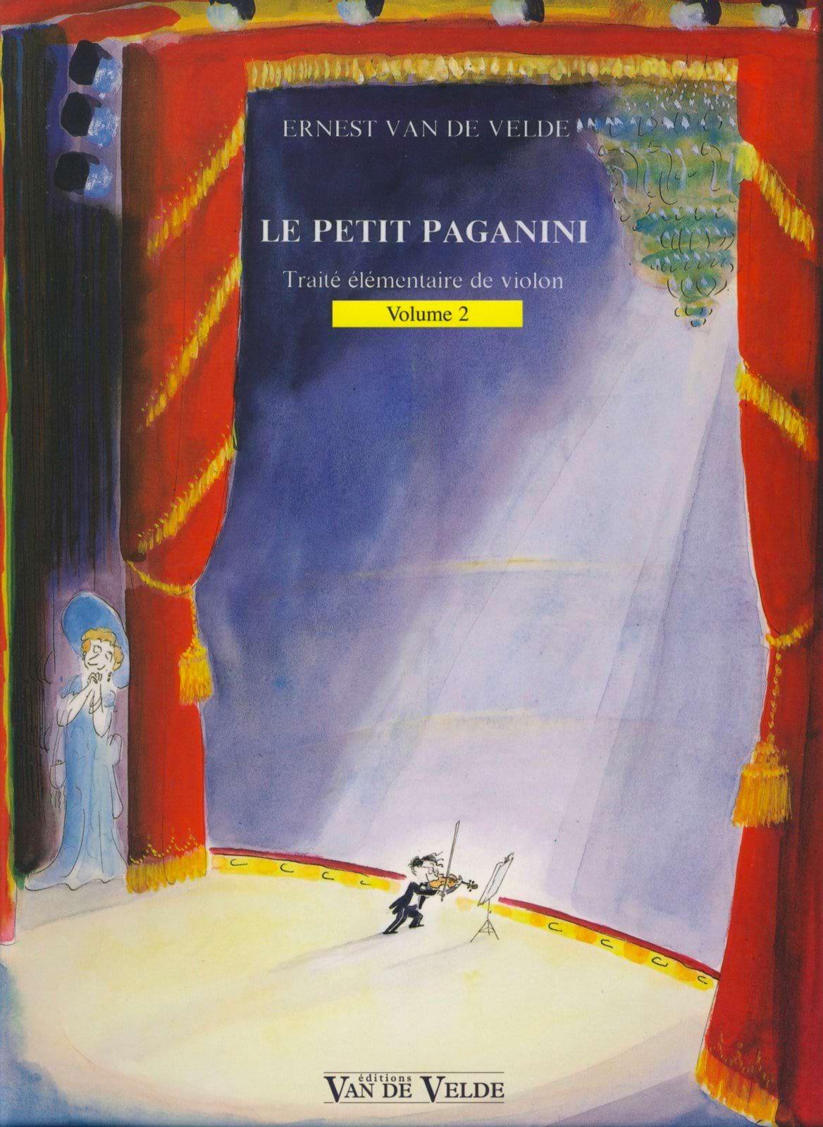 Le Petit Paganini Volume 2 - Partition - Violon - laflutedepan.com