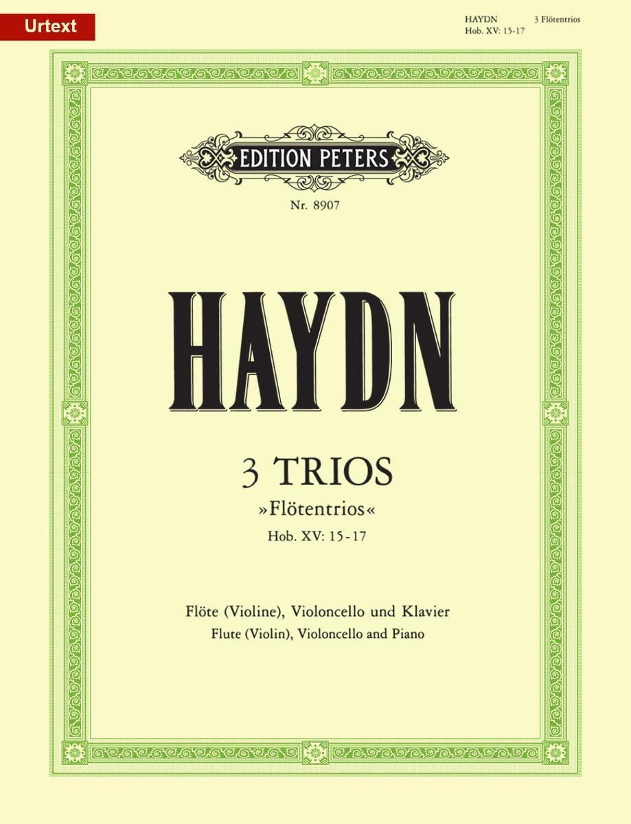 3 Trios Flötentrio Hob. 15 : Nr. 15-17 - HAYDN - laflutedepan.com