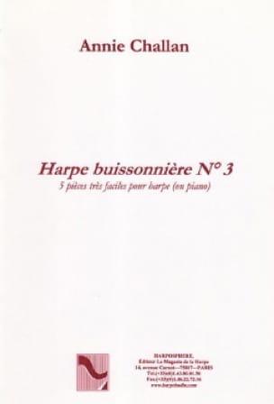 La Harpe Buissonnière N° 3 - Annie Challan - laflutedepan.com