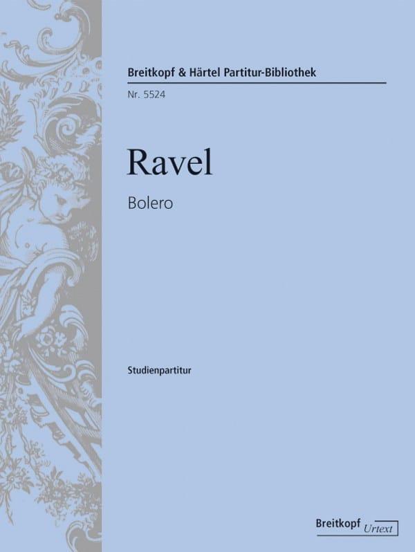 Bolero - RAVEL - Partition - Petit format - laflutedepan.com