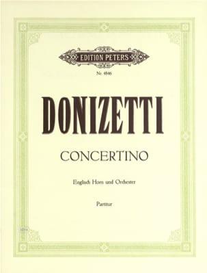 Concertino G-Dur - Englisch Horn u. Orch. - Partitur laflutedepan