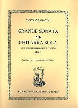 Grande sonata per chitarra con acc. di violino M.S. 3 - laflutedepan.com