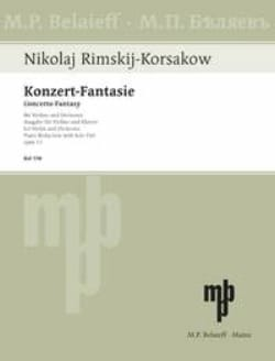 Konzert-Fantasie op. 33 - RIMSKY-KORSAKOV - laflutedepan.com